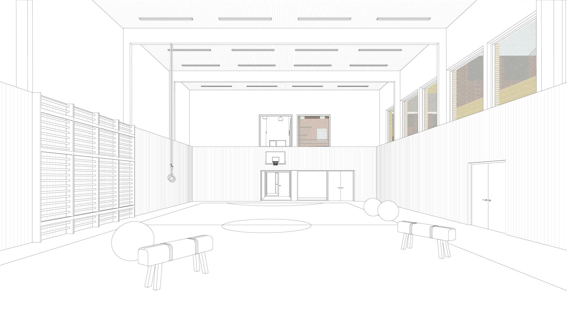 Everaert Collage In Gym