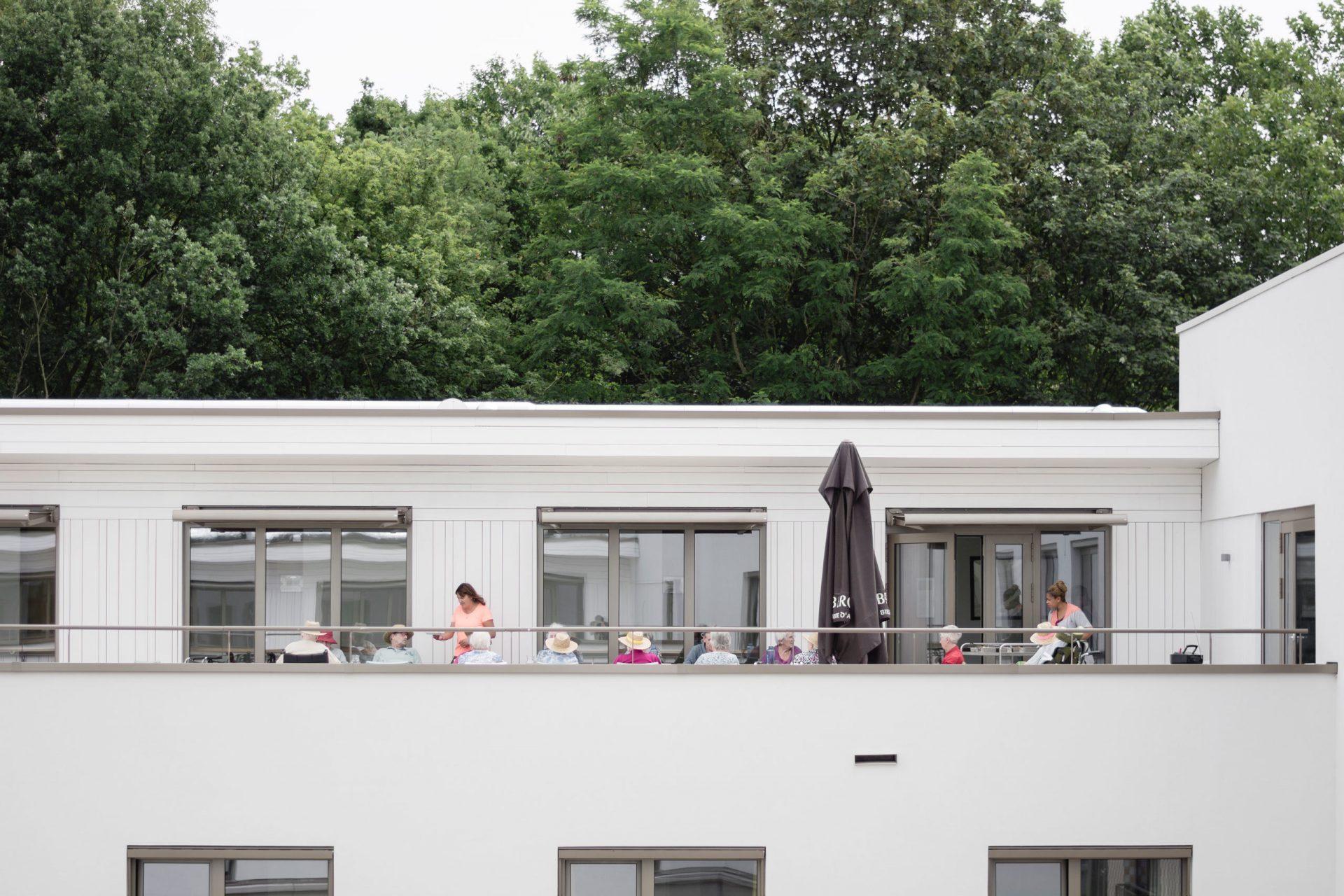 Machelen Terrace People