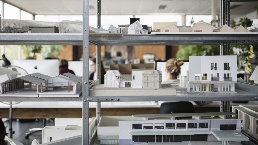 Korteknie Stuhlmacher Bureau Architecture Office Models