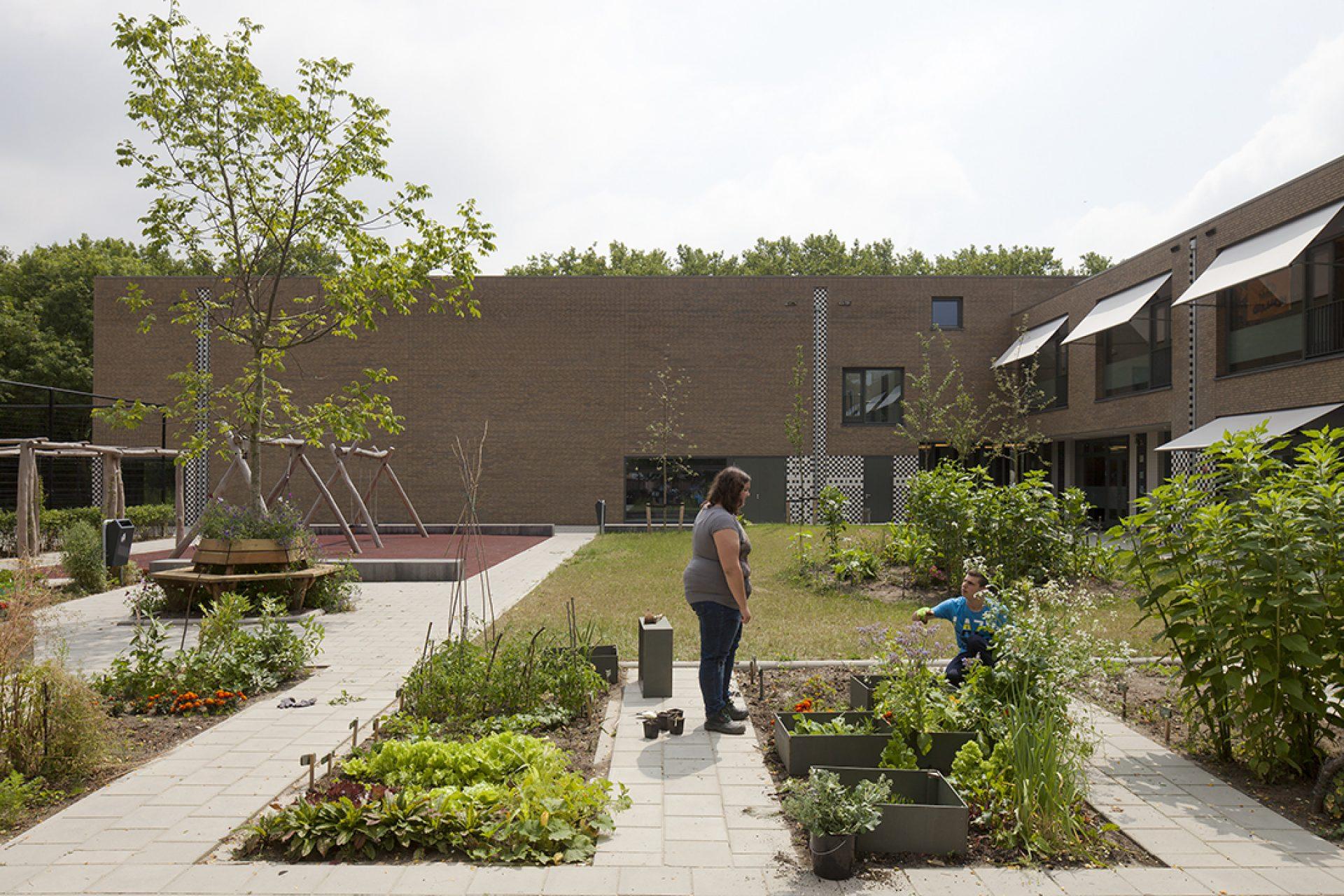 Aj Schreuderschool tuin favoriet