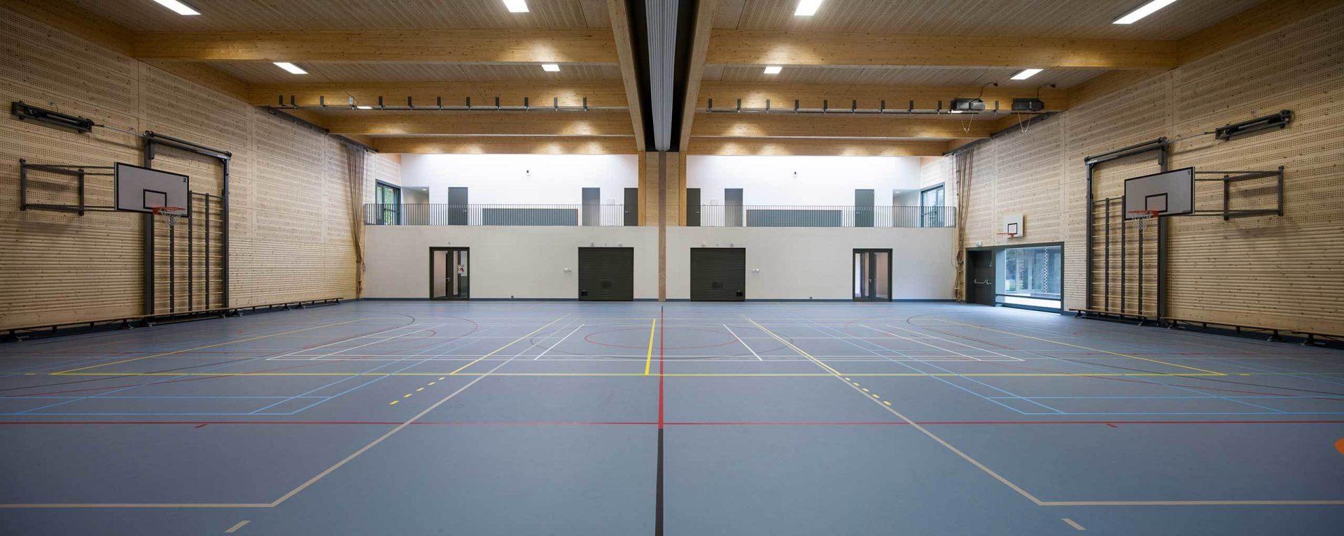 Aj Schreuderschool Gym Back
