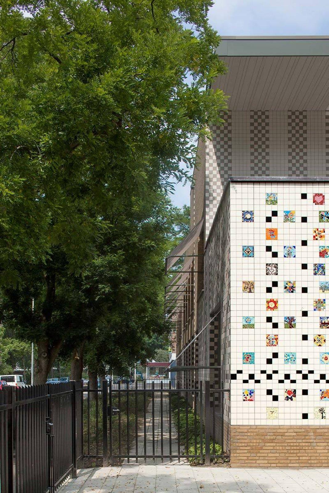 Aj Schreuderschool Side Tiles
