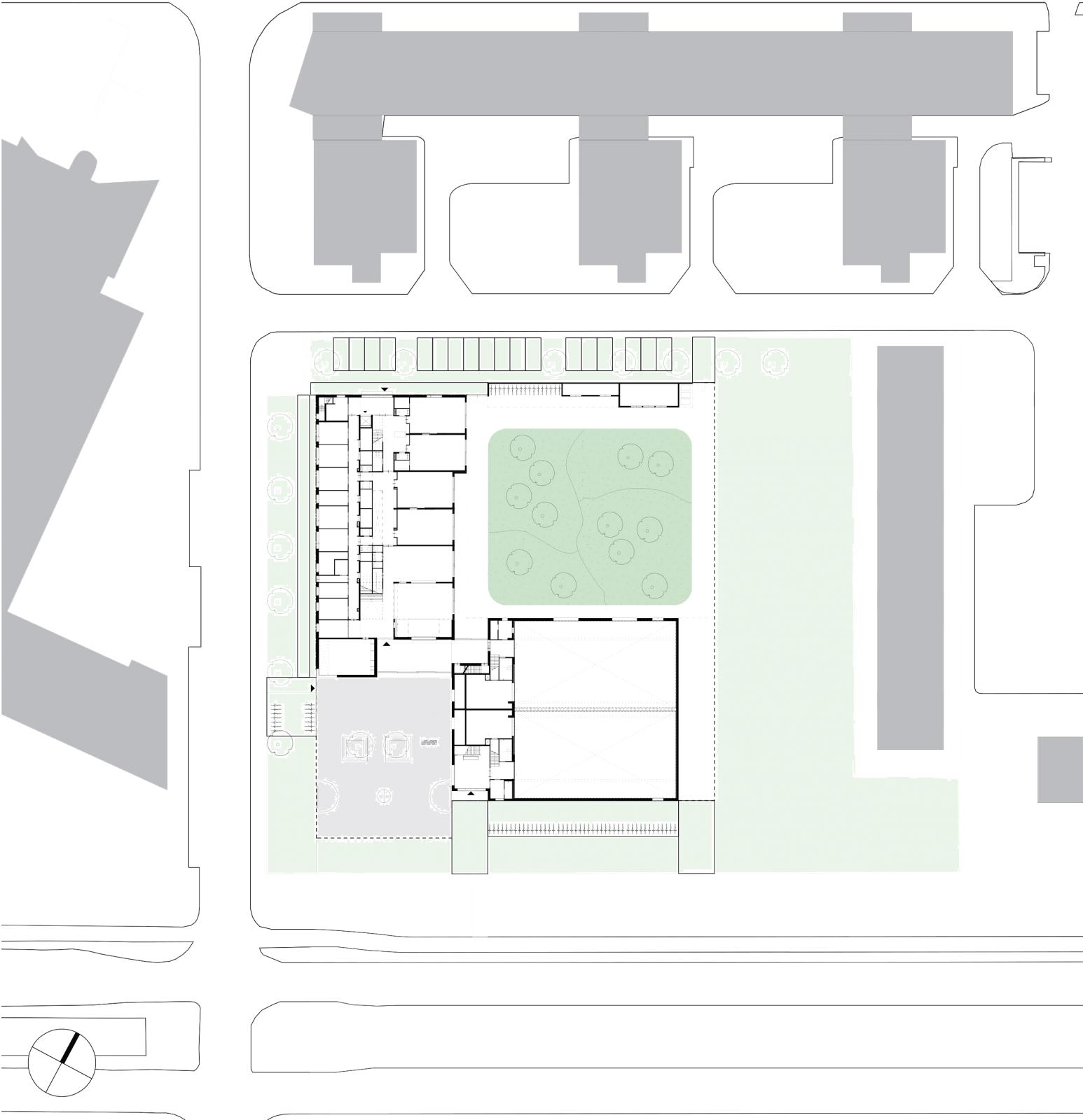 Aj Schreuderschool Site Plan