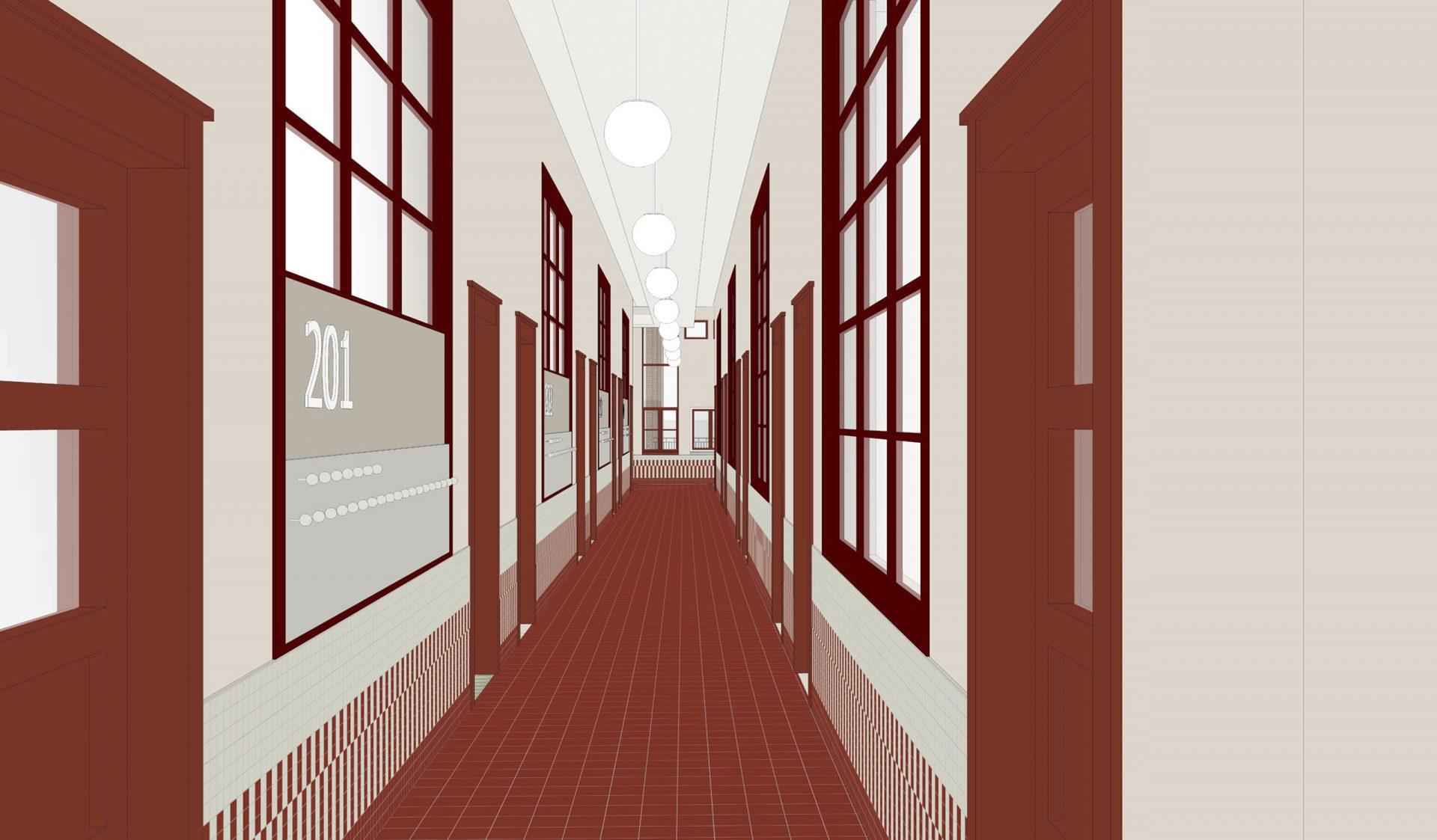 Cadix Va Corridor 201