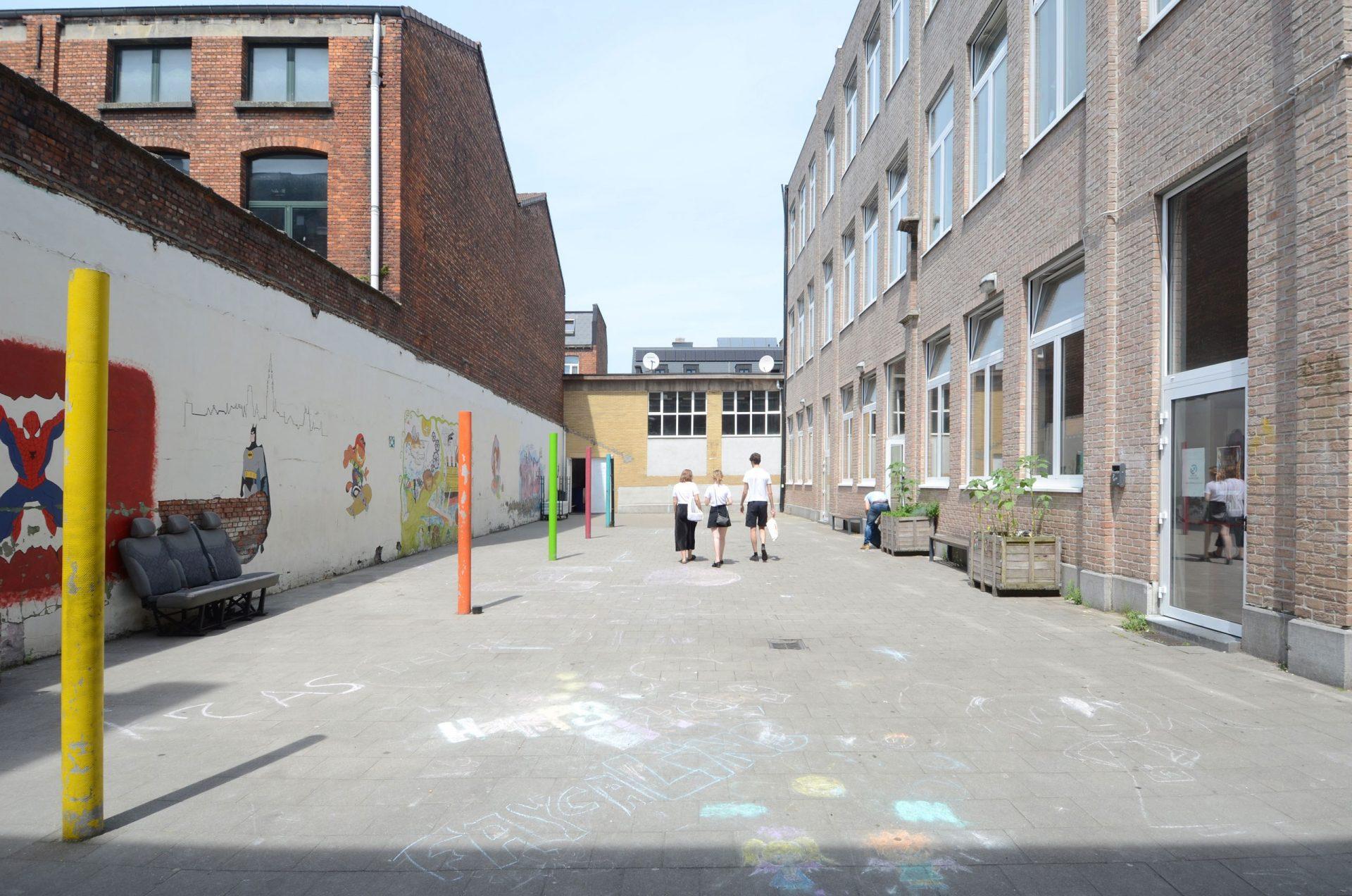 Everaert Existing Courtyard