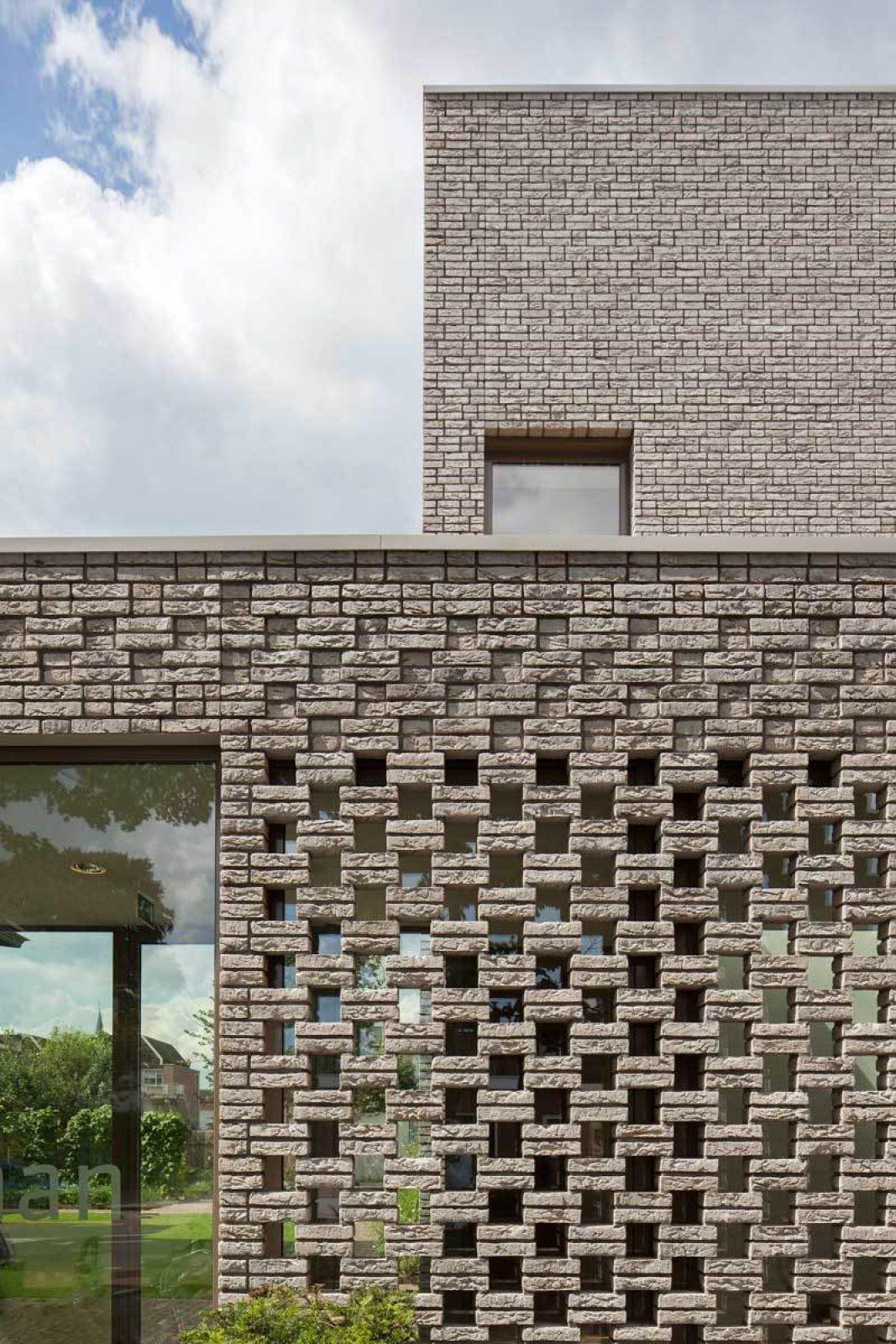 Mondrian Brick Facade