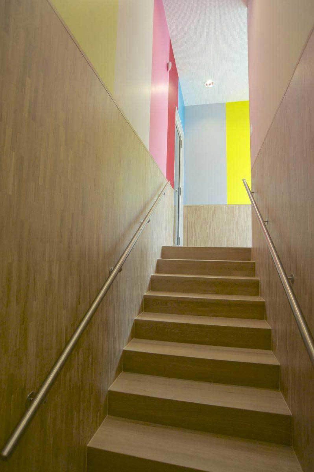 Mondrian Stair