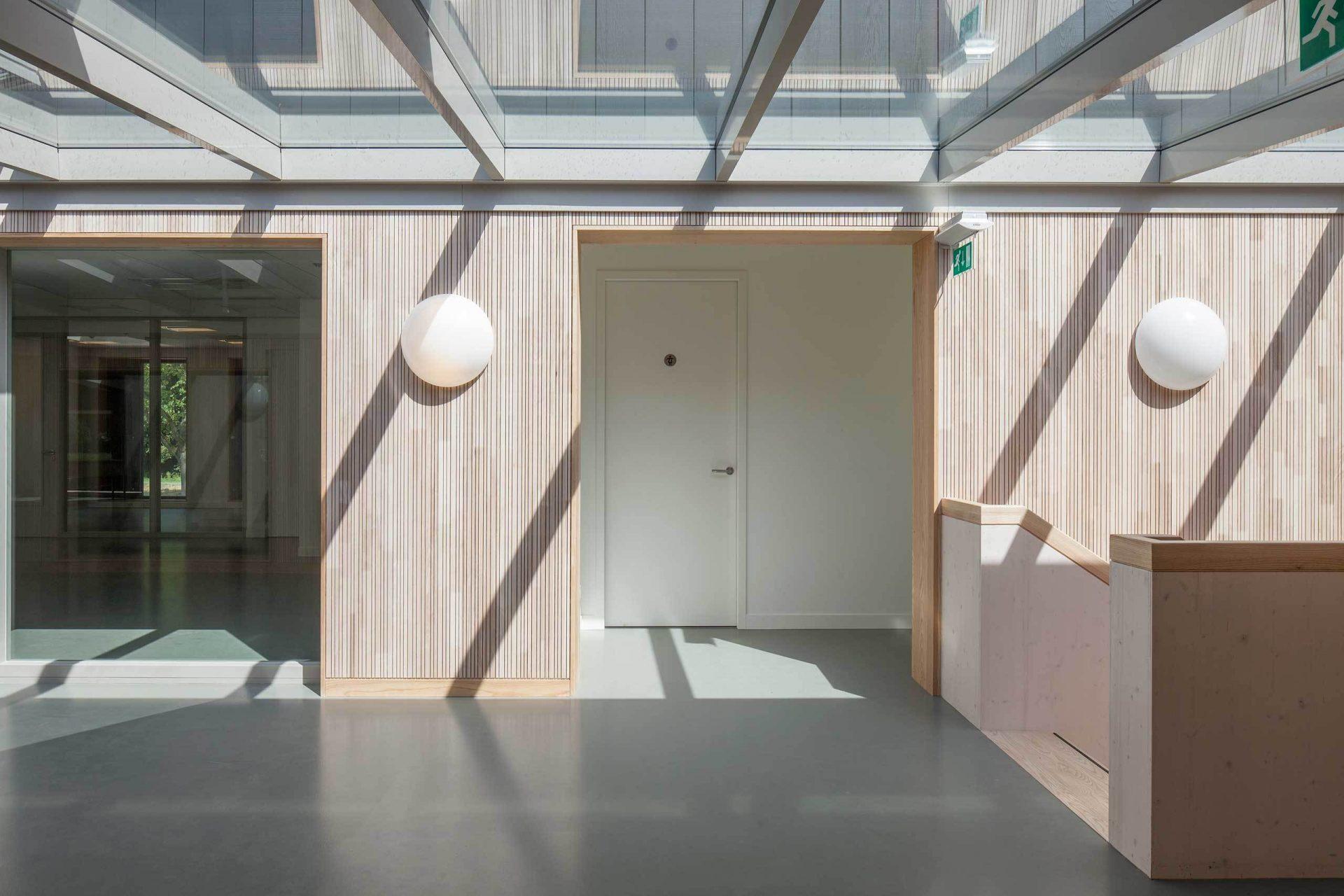 Rowing Building Corridor Hallway