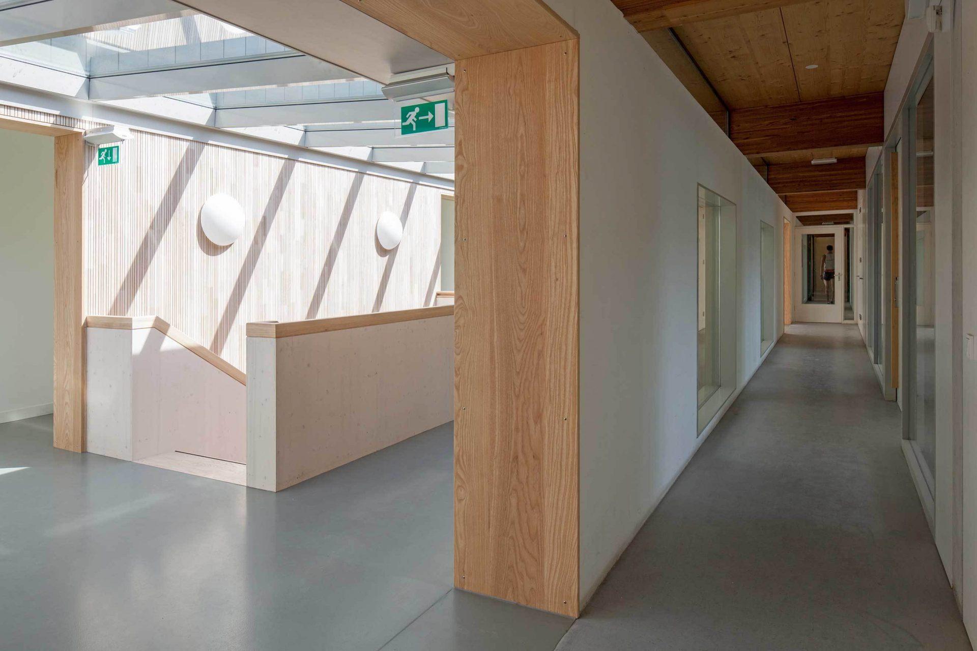 Rowing Building Corridor