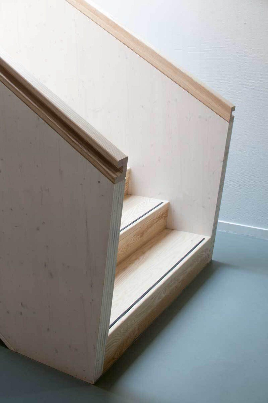 Rowing Building Stair