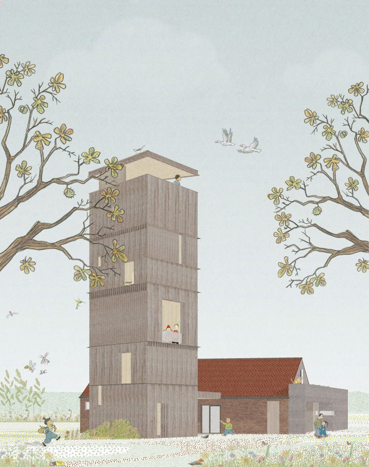 Toren Collage