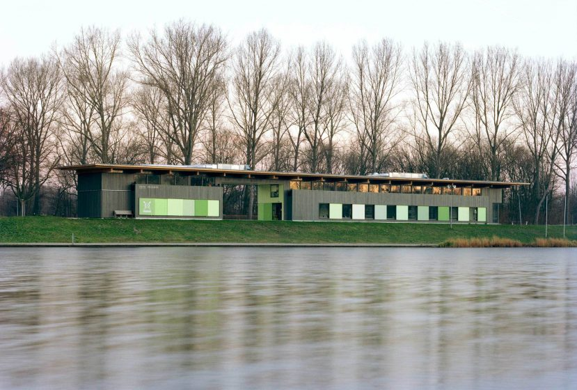 Rowing Building River